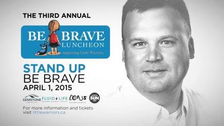 Matthew Sandusky: Keynote Speaker at Little Warriors Be Brave Luncheon